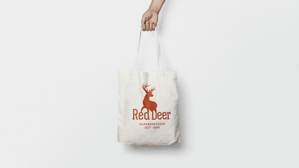 Baumwolltasche Red Deer