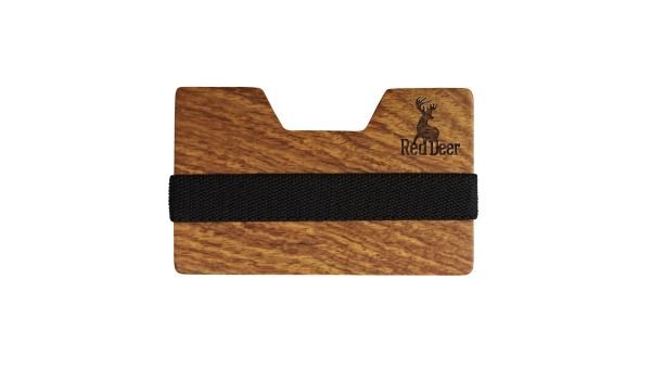 Holz Wallet Red Deer