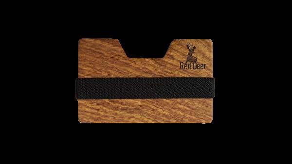 Wooden Wallet Red Deer
